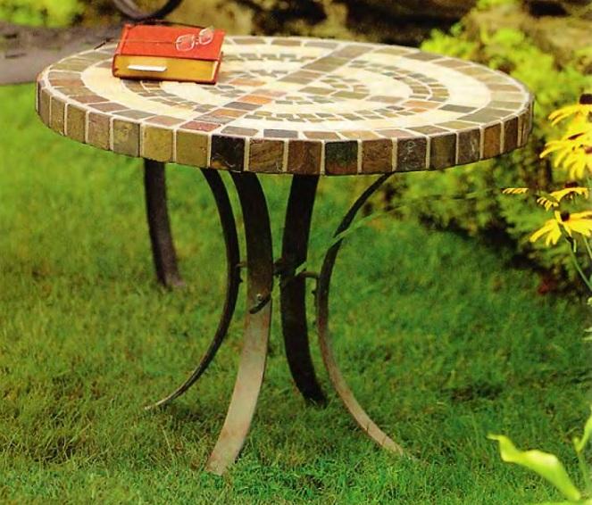 мозаичный столик своими руками.Не много труда и фантазии.