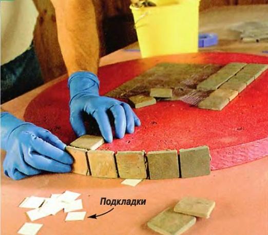мозаичный столик своими руками